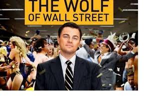 logo el lobo de wall street